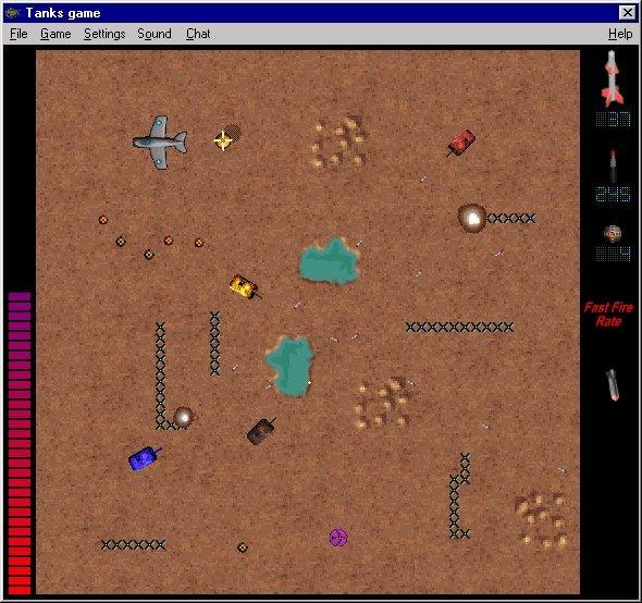 Tank game sample image